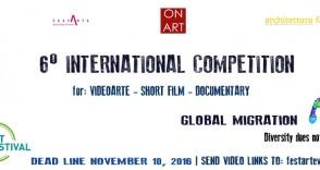 CALL FOR: Videoart – Short film |Documentary  #FESTARTE