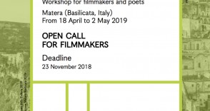 Matera 2019 | Open call filmmakers!